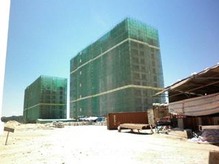 Thi công công trình Hyatt
