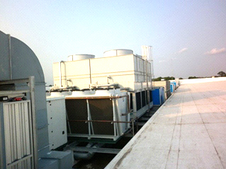 Điều hòa trung tâm BigC Nha Trang – Water chiller